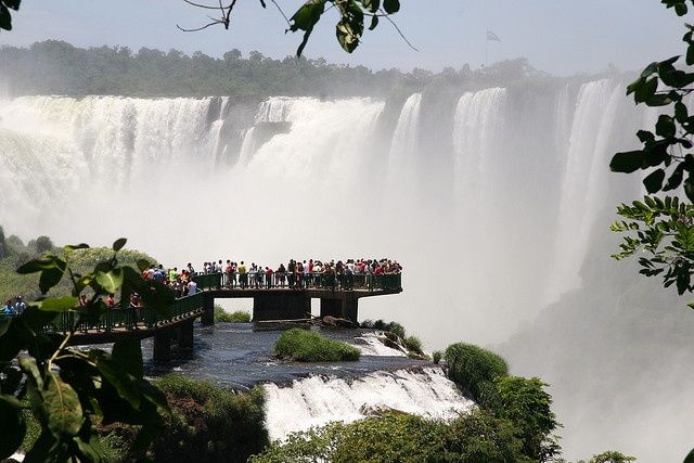 Iguacu Falls, Brazilian side